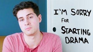My apology for starting drama