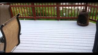 Composite Decking W/ Pressure Treated Rails