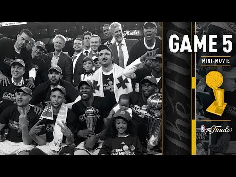 2017 NBA Finals Game 5 Mini-Movie | The Warriors Win the 2016-2017 NBA Championship