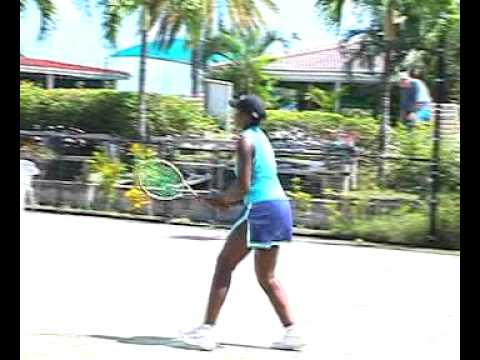 Anika Williams Antiguan Tennis Player.mp4