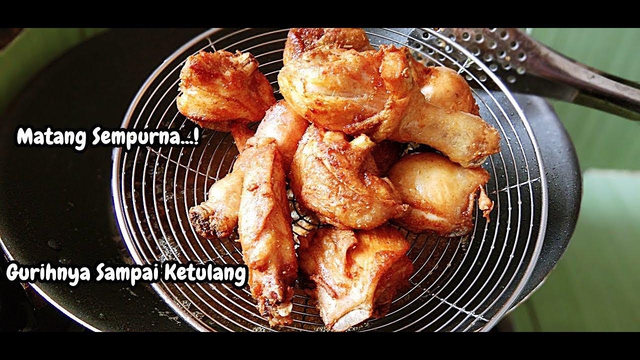 Resep Ayam Goreng Tanpa Ungkep Lebih Gurih Dan Juicy Youtube