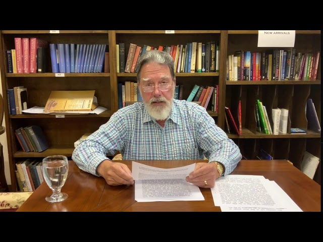Bible Study with Bill Stahl - Week 18 Commentary on The Plagues