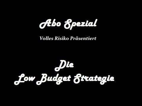 Abo Spezial TUTORIAL VR präs. Die Low Budget Strategie Book of Ra *PREMIERE* 2015
