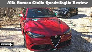 Alfa Romeo Giulia Quadrifoglio Review | Is the ATS-V Better?