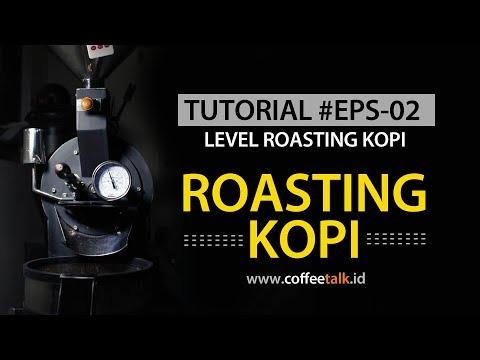 Roasting Kopi EPS 02, Level Roasting Dan Karakter Rasa Kopi
