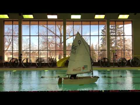 Indoor Sailing Pool Takeover. In January. In Calgary!