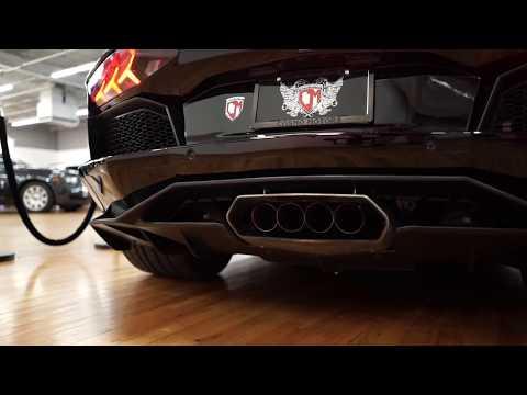 Lamborghini Aventador Valvetronic Exhaust & Sport Cats Install & Driving