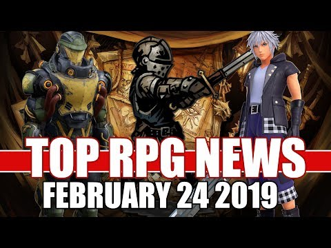 Top RPG News Of The Week - Feb 24 2019 (Darkest Dungeon, Sekiro, Outer Worlds)