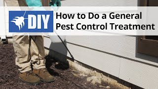 How to do a General Pest Control Treatment - DIY Pest Control
