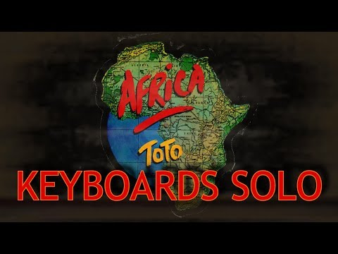 Africa - Solo Keyboards (Toto Keyboard Cover) with Roland JV-1080