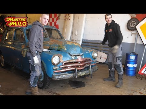 Gaz M20 Pobeda (Old Russian car) #1