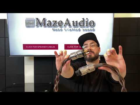 Maze Audio Company Review (speaker, Power, And Interconnect Cables Ref4 And Eden Series).