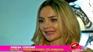 La modelo y presentadora Ximena Córdoba está brillando en Los Ángeles