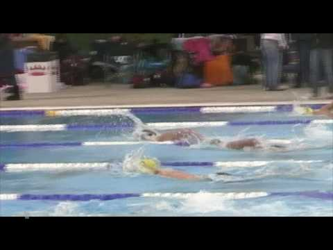 CLASS teammates racing 100M Freestyle at Rattler S...