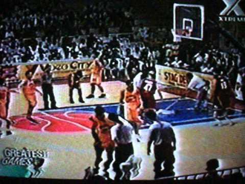 2001 Brgy.Ginebra vs Tanduay