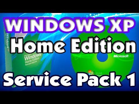 Установка Windows XP Home Edition Service Pack 1 на старый ноутбук