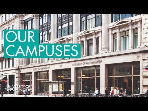 University of Westminster Fly Through - #LondonIsOurCampus
