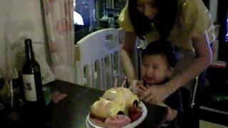 CHAN KEi YU 2 YEARS OLD BIRTHDAY PARTY