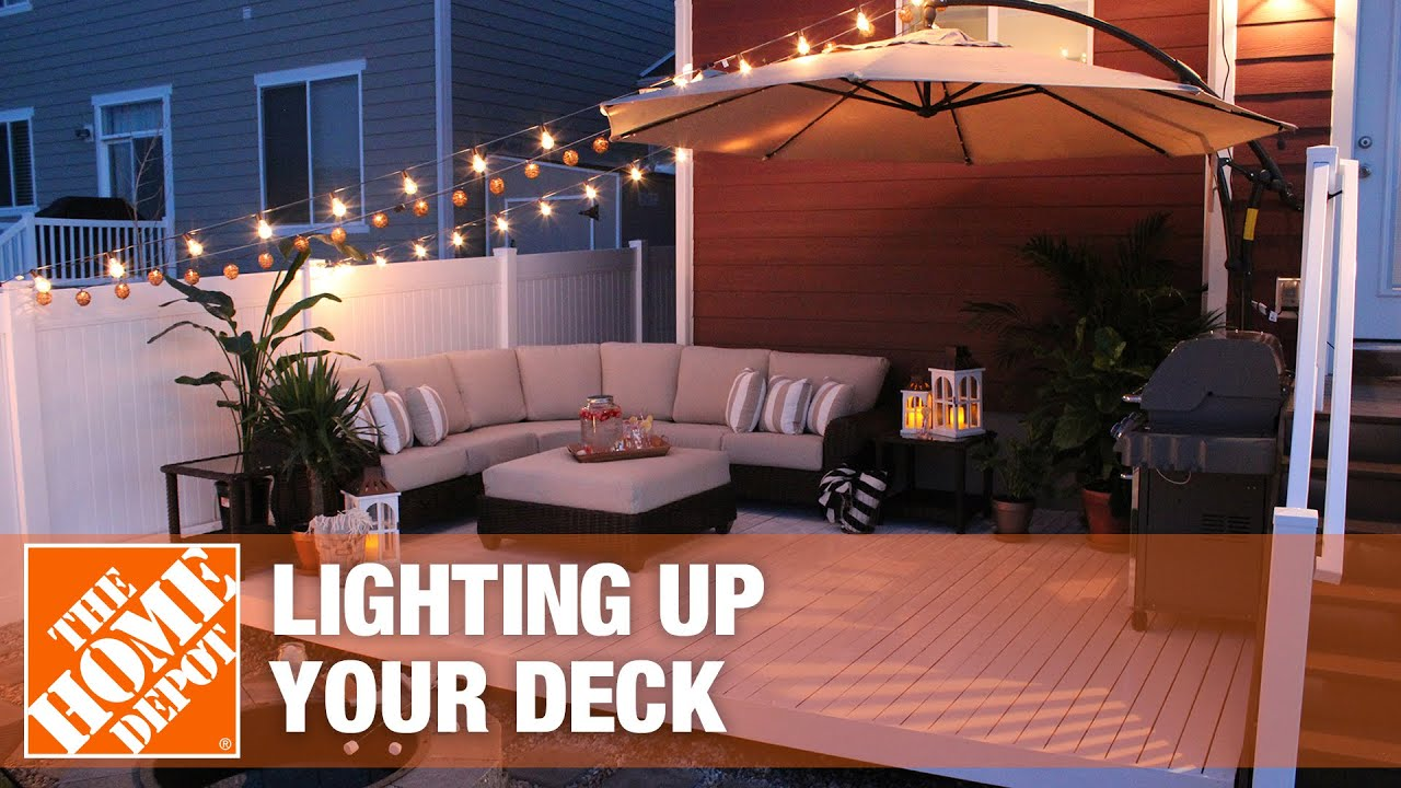 ideas for lighting up your deck the