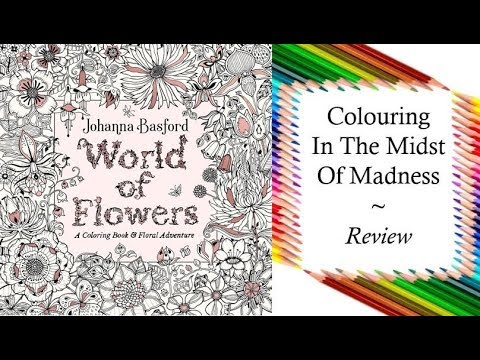 World Of Flowers A Coloring Book Floral Adventure Us Edition