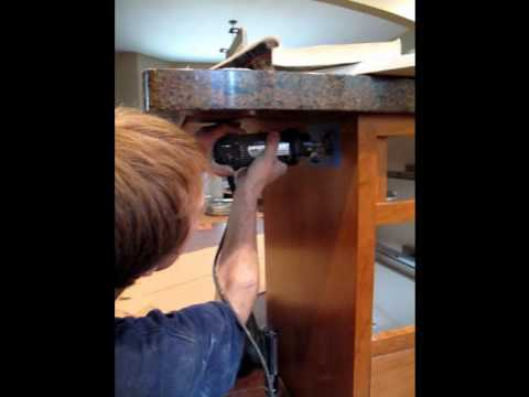 Kitchen Island Electrical Outlet island outlets - youtube