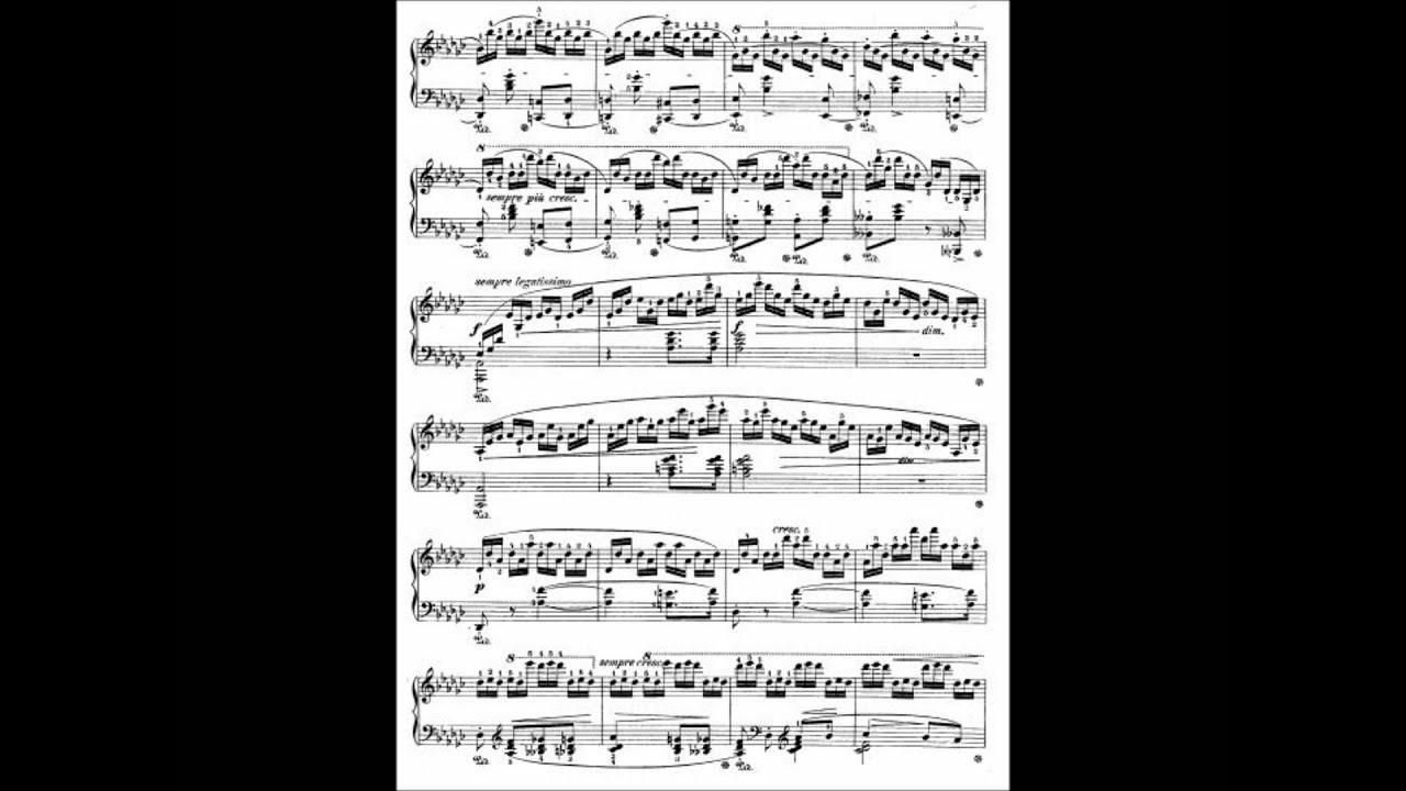 chopin tristesse sheet music pdf