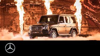 Mercedes-Benz G-Class World Premiere at the Detroit Auto Show | NAIAS 2018