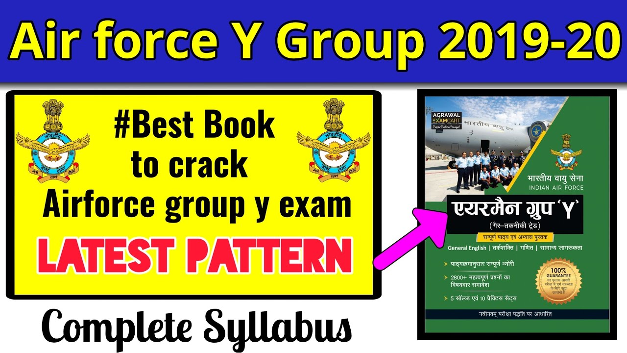 Best book to crack Air force y group
