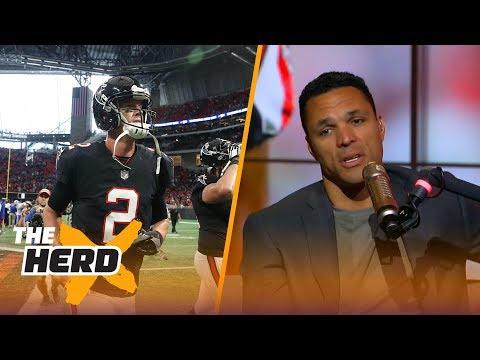 Tony Gonzalez on Matt Ryan, Odell Beckham and more after Week 4 | THE HERD