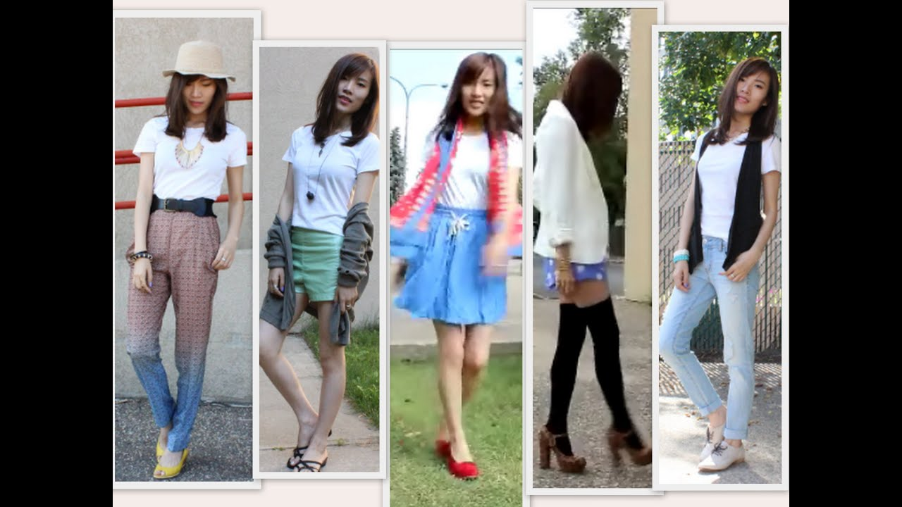 How I style a plain white T-shirt