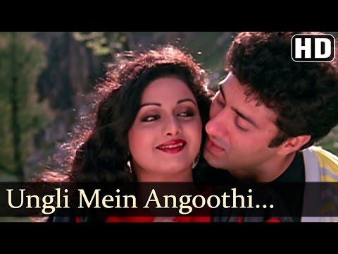 Oongli Mein Angoothi Angoothi Mein Nagina - Sridevi - Anil Kapoor - Ram Avataar - Laxmikant Pyarelal
