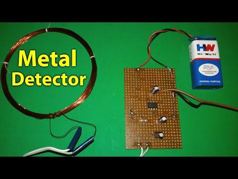 Make A Simple Metal Detector You