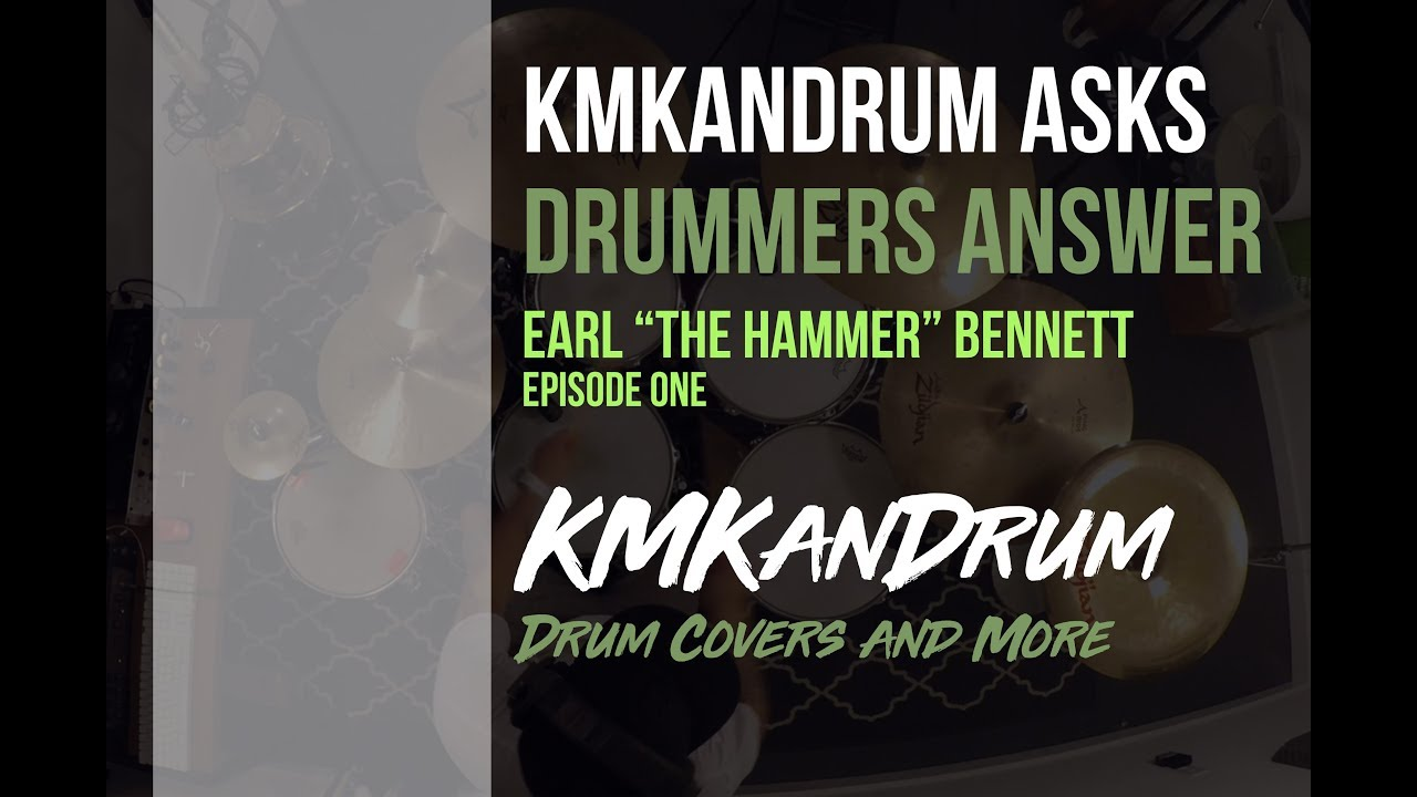 """Earl """"The Hammer"""" Bennett featured on the very first Episode of Q&A with KMKanDrum"""