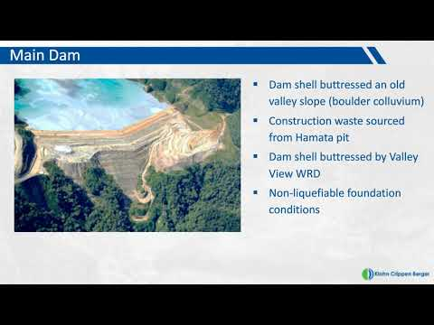 Design And Construction Of The Hamata Tailings Dam, Hidden Valley Mine, Papua New Guinea (Webinar)