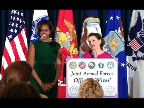 The First Lady Announces New Funding for Military Families