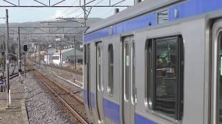 370M E531系 K426編成 常陸多賀駅発車