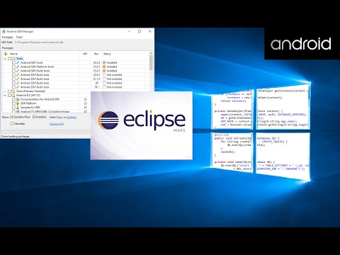 How To Install Android SDK & Eclipse ADT Plugin On Windows 10 Using Eclipse Mars 2015
