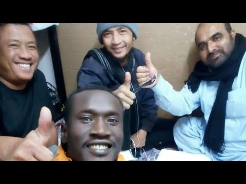 Supir Indonesia, Niger (Afrika) dan Pakistan ngerumpi || TKI Riyadh Arab Saudi