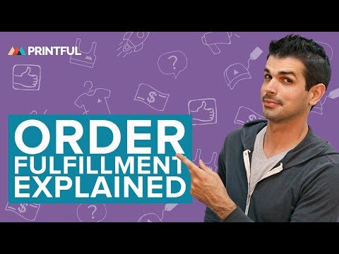 Printful Order Fulfillment Explained | Print On Demand For Beginners 2019