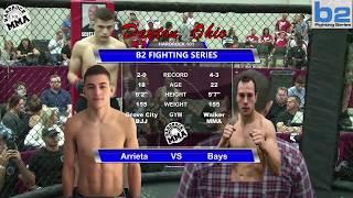 Hardrock MMA 101 Fight 6 Michael Arrieta vs Daniel Bays 160 Ammy