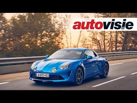 Review: Alpine A110 (2017) - door Autovisie TV