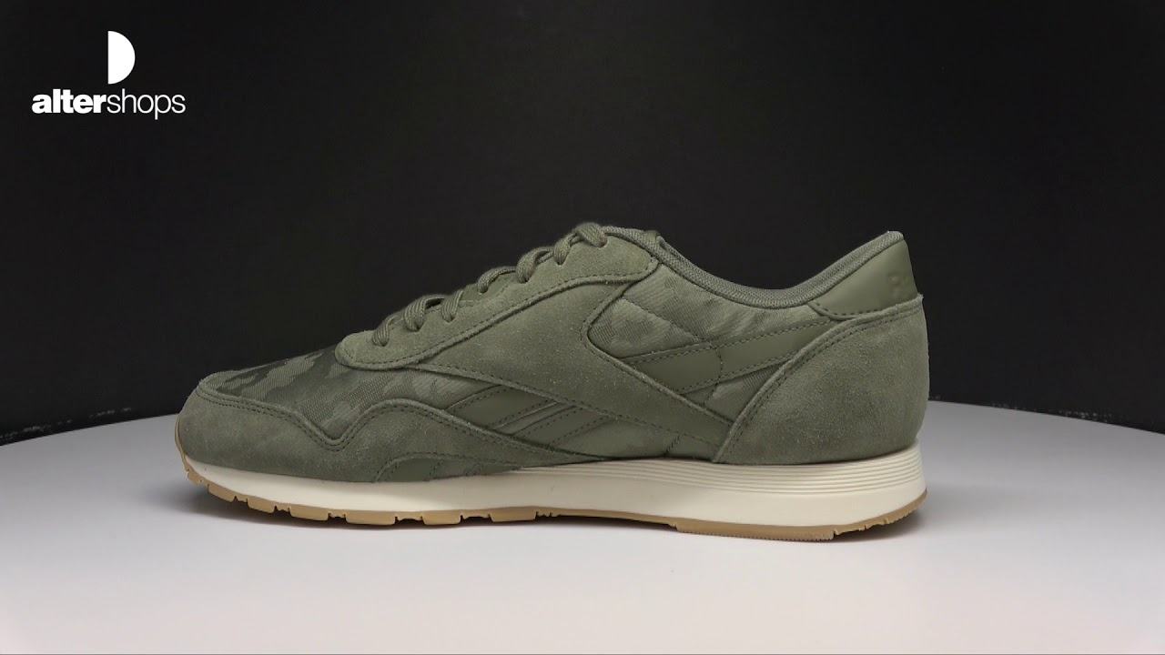 reebok classic cl nylon sg bs youtube youtube bs a2129c