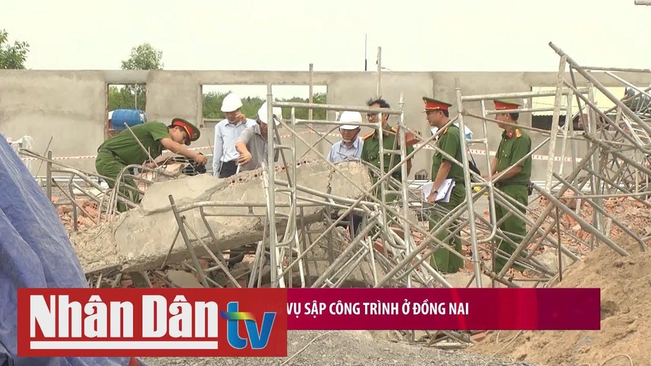 Bắt 4 đối tượng trong vụ sập công trình ở Đồng Nai