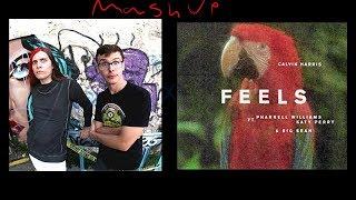 iDubbbz - Asian Jake Paul × Calvin Harris - Feels (mashup)
