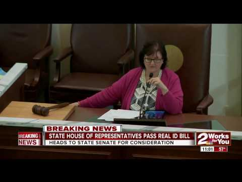 Real ID Bill passed by State House of Representatives