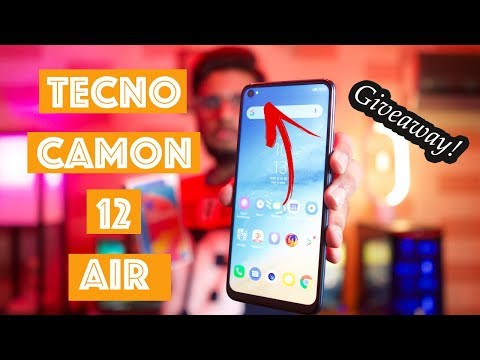 Tecno Camon 12 Air Unboxing | Punch Hole In Midrange?