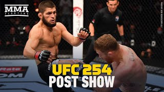 UFC 254: Khabib Nurmagomedov vs. Justin Gaethje Post Show