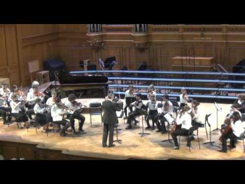 Отчетный концерт школы №1 имени  С.С.Прокофьева