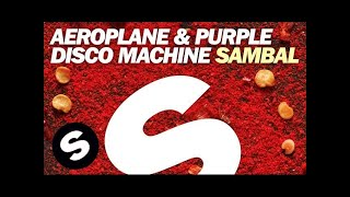 Aeroplane & Purple Disco Machine  - Sambal