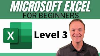 Microsoft Excel Tutorial - Beginners Level 3